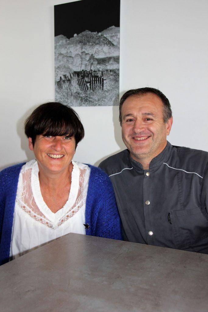 gilles et nathalie Salha Restaurant Larralde