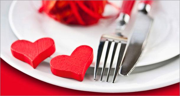 Mercredi 14 février St Valentin : des menus et un cadre !