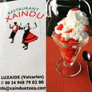 xaindu fraises chantilly