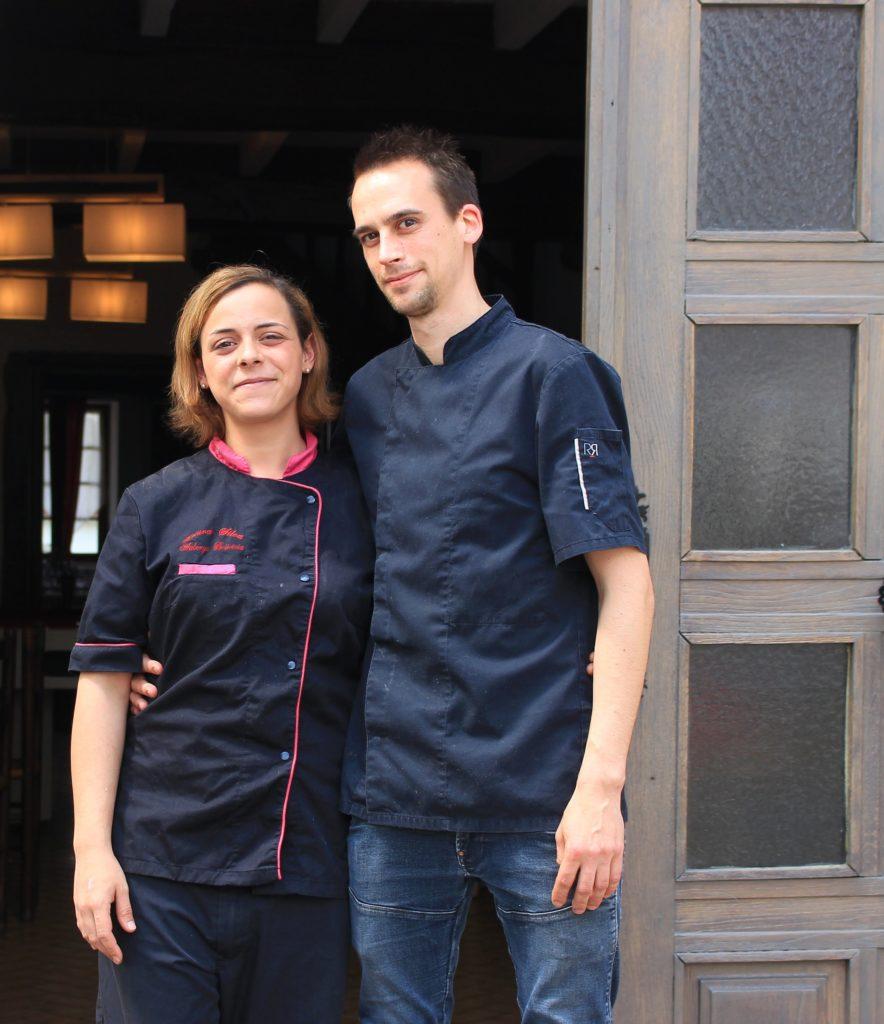 laura et mathieu restaurant Briseteia