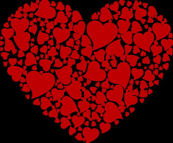 les fourchettes coeur st valentin