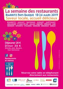 semaine des restaurants 2019
