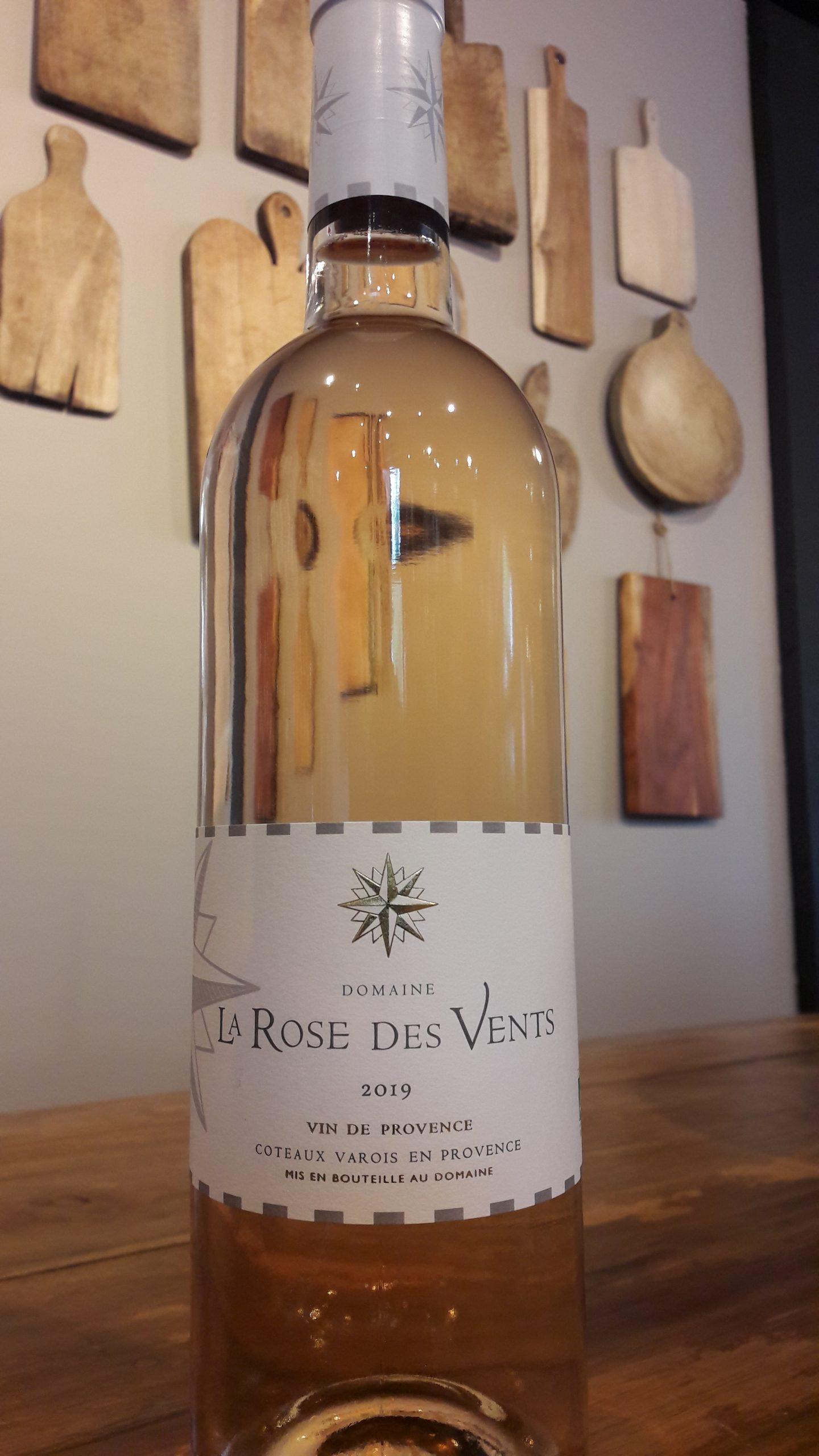 1 bouteille de vin rosé de provence